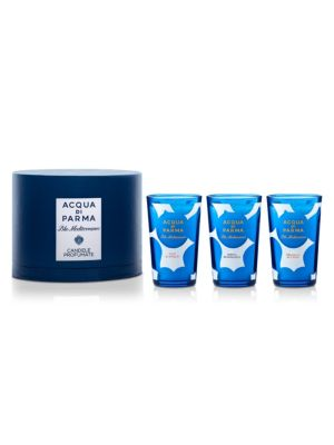 Limited Edition Blu Mediterraneo Candle Collection/3 x 2.3 oz.