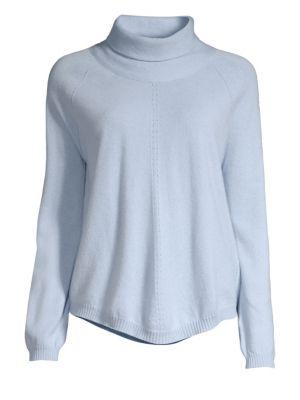 Virgin Wool & Cashmere Turtleneck Sweater