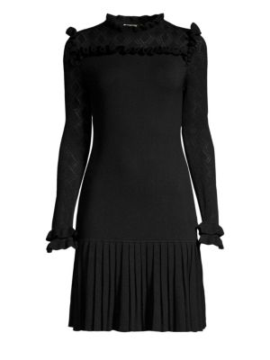 SHOSHANNA Nicolla Pleated Sheath Dress