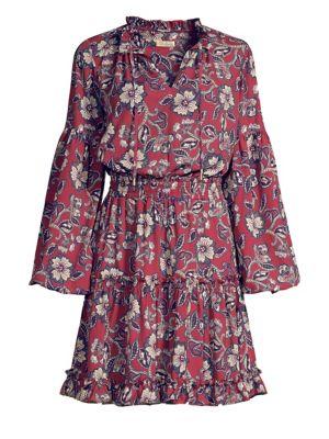SHOSHANNA Moravia Floral Mini Dress