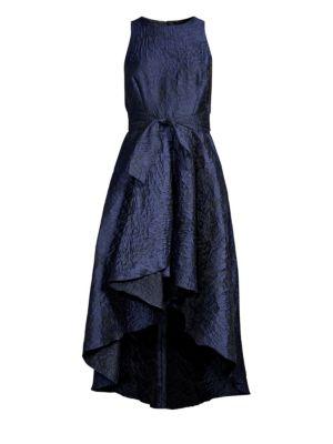 SHOSHANNA Preuss Ruffled High-Low Dress