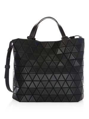 Crystal Matte Leather Tote