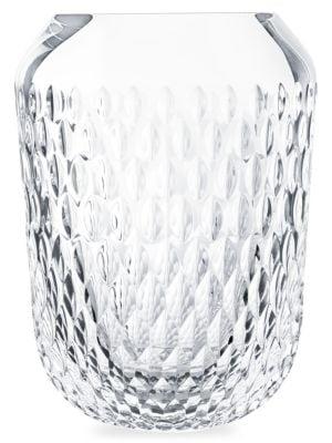 Folia Small Crystal Vase