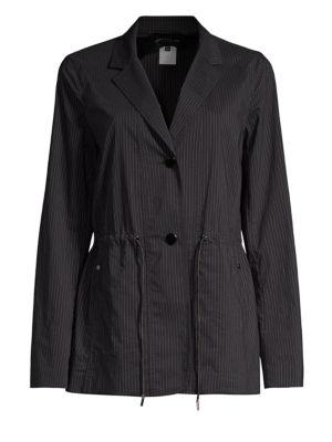 Porsha Pinstripe Jacket