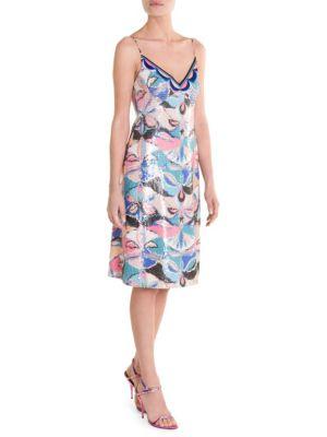 Sequin Slip Dress