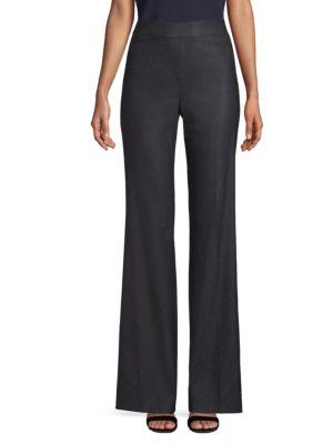 Stretch Birdseye Suit Pants