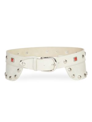 Tricy Studded Leather Belt