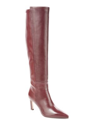 STUART WEITZMAN Demi Tall Leather & Suede Boots