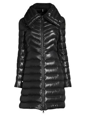 Faucon Chevron A-Line Coat