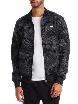 G-STAR RAW Rodis Camo Zip Up Sweatshirt