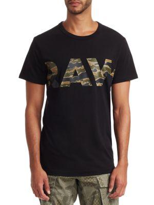 G-STAR RAW Tahire Camo Logo T-Shirt