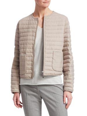 Slim Puffer Jacket