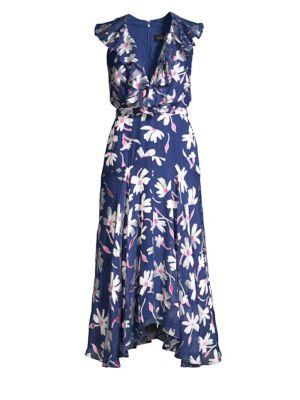 Rita Floral Midi Dress