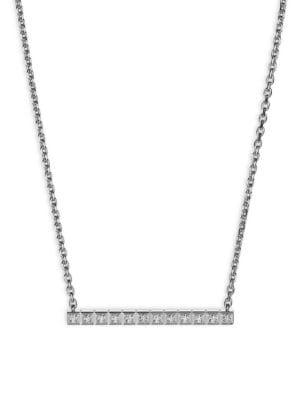 CHOPARD Collier Ice Cube 18K White Gold & Diamond Necklace