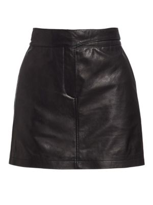 Mila Leather Mini Skirt