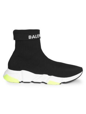 BALENCIAGA Speed Trainer Folded Sock Sneakers