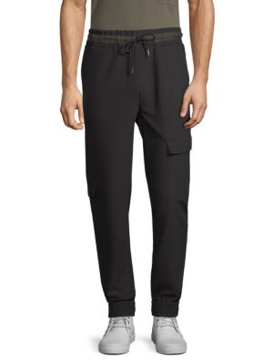 Slim-FIt Crepe Combat Pants