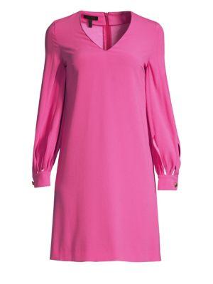 ESCADA Cut-Out Blouse Dress