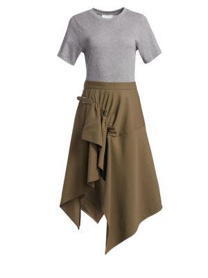 Wool Hankerchief Skirt