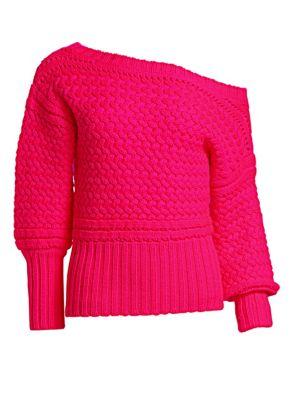 Marie Off-Shoulder Wool Sweater