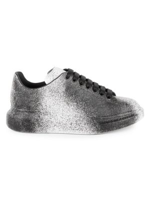 Alexander McQueen Spray Paint Platform Sneakers