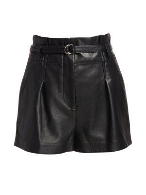 3.1 PHILLIP LIM Origami Leather Shorts
