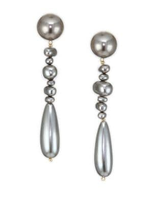 Acrylic Pearl Copacabana Drop Earrings