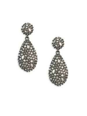 Earring Capsule Swarovski Crystal Pod Drop Earrings