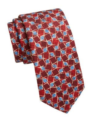 COLLECTION Square Print Tie