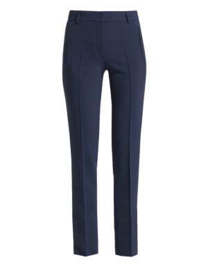 AKRIS PUNTO   Fabia Stretch Tailored Pants   Goxip