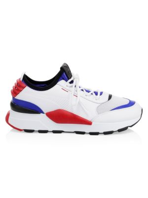 Rs 0 Play Leather Lace Up Sneakers by Puma