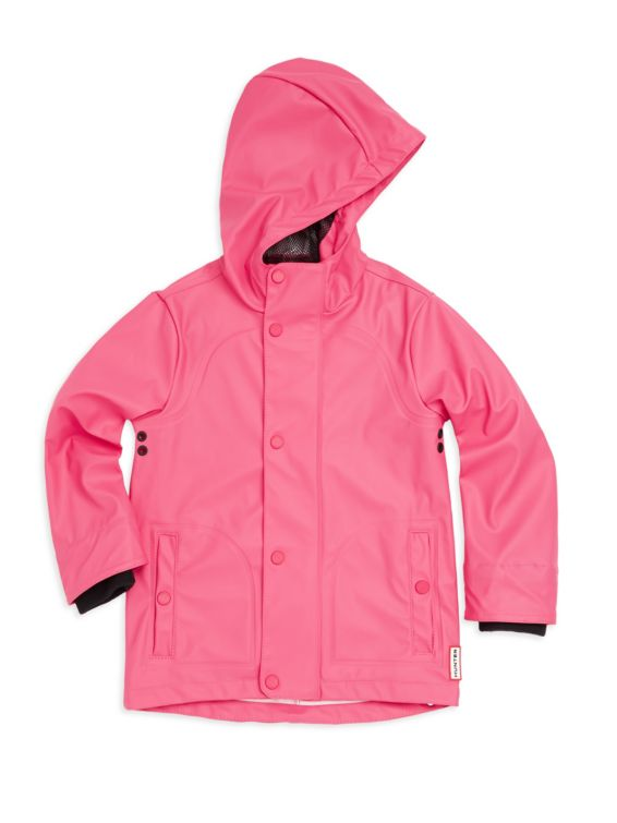 Hunter Little Girls Waterproof Raincoat