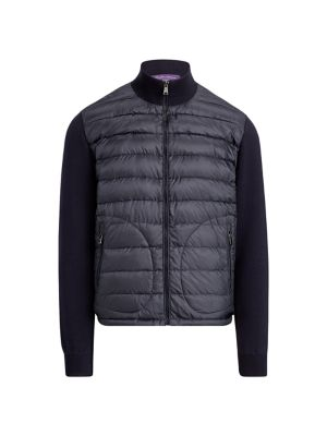 RLX Quilted Nylon & Wool Hybrid Jacket