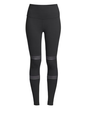 BEYOND YOGA | Mirage Cut Out Detailed Tights | Goxip