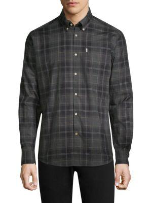 BARBOUR Wetheram Plaid Shirt