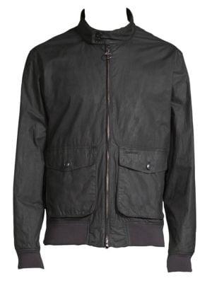 BARBOUR Hagart Waxed Cotton Jacket