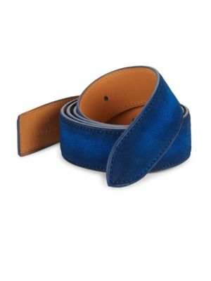 CORTHAY Suede Buckle Belt