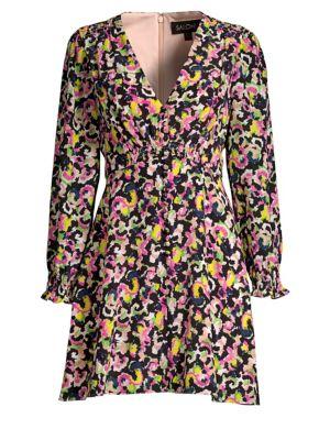 Eve Mini Silk A-Line Dress