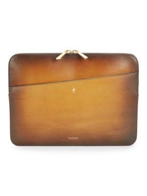 CORTHAY Leather Gradient Portfolio Pouch