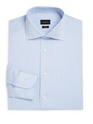 ERMENEGILDO ZEGNA | Stripe Rofeo Dress Shirt | Goxip