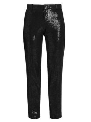 Sequin Tuxedo Pants