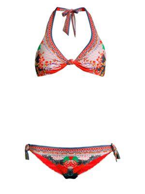 CAMILLA Two-Piece Printed Bikini