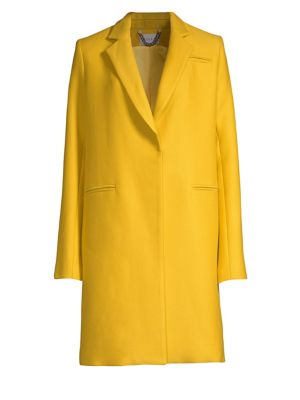 Twill Notch Lapel Coat