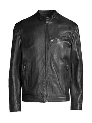 Weston Leather Moto Jacket