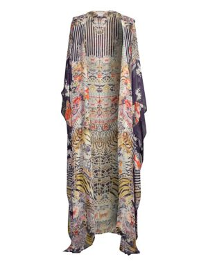 Oversized Wild Print Robe