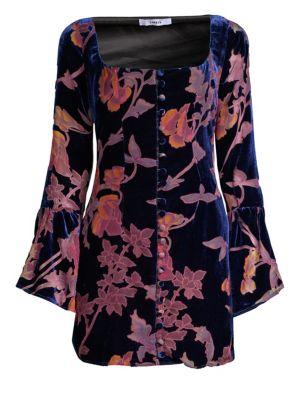 Mariella Velvet Mini Dress