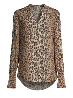 Tariana Leopard Print Blouse