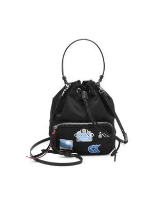 Tessuto Stamped Bucket Bag