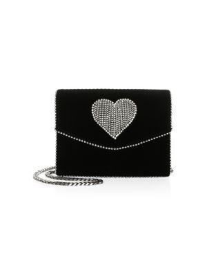 Lulu Disco Heart Crossbody Bag