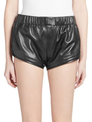 High-Waist Athletic Mini Shorts